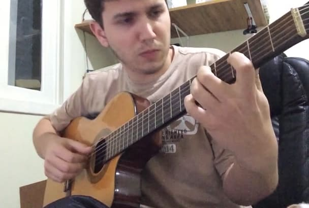 record ANY acoustic guitar for your song, bossa nova, pop, rock