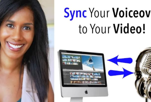 sync your voiceover to your explainer video