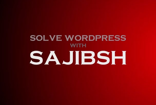 solve any WordPress problem immediately