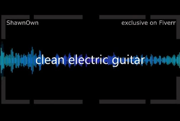record Studio Quality Rhythm Guitar Track