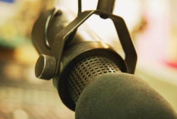 record a top notch professional warm and natural Voice Over