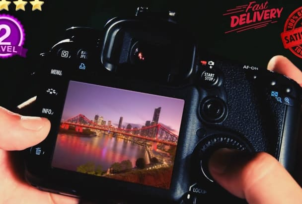 make this DIGITAL Photographer Promo Video Intro