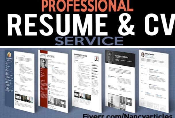 write and rewrite  resume, cover letter or LinkedIn profile