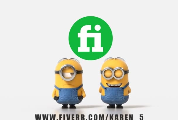 make minion video with your logo