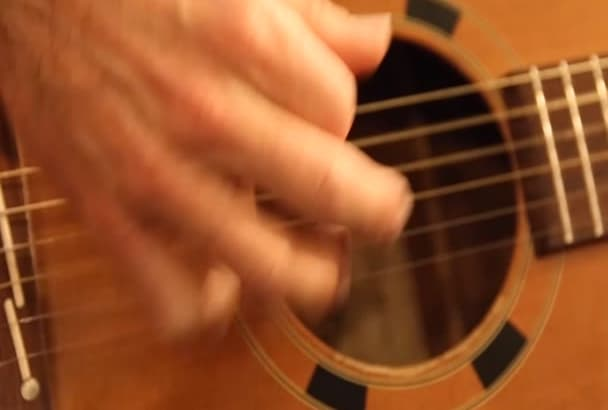 compose and play guitar for your film or Presentation