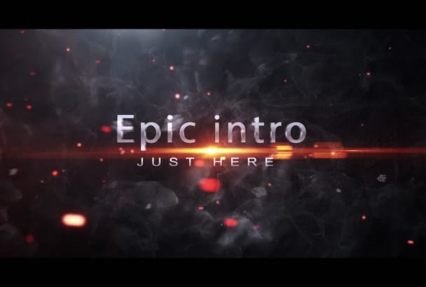 create a Professional Epic intro