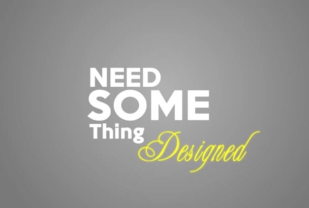 do any Graphic Designing and 3D Modeling