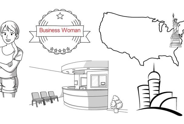 create a creative WHITEBOARD animation video