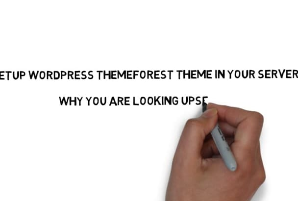 setup any  themeforest theme in your required  website