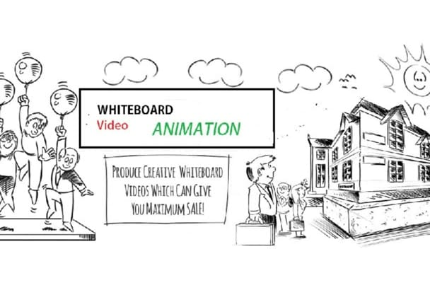 create Unique Whiteboard Animation Video