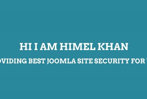 fix hacked  joomla and clean malware