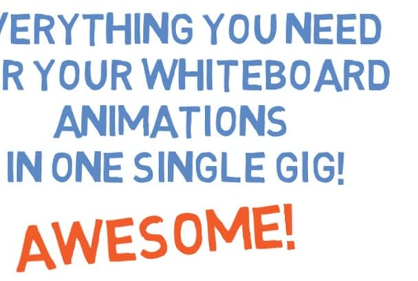 give you up to 30000 SVG images for whiteboard animation