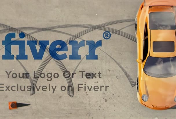 create an awesome car drift with your logo