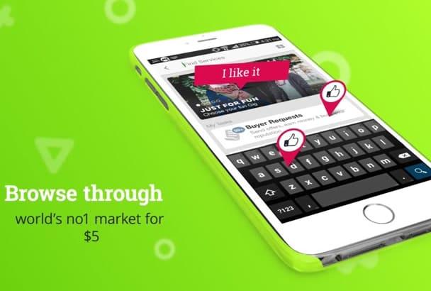 create amazing iphone app promo
