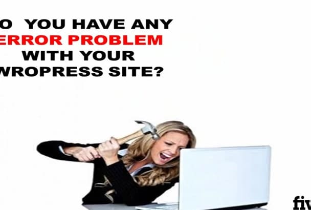 fix WordPress issue or solve errors problem within 24 hours