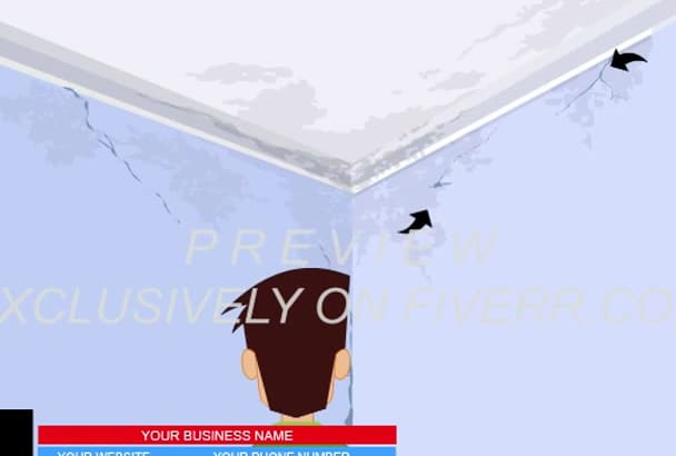 brand Animated video for ROOFING Company