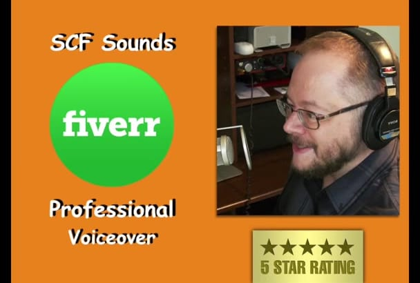 professional Voice Over Friendly American male
