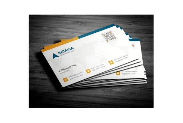 create a business card for your business