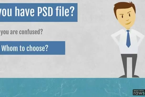convert psd to html5,css3,responsive design