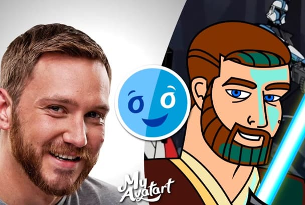 make Star Wars caricature yourself online