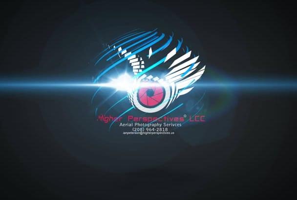 do creative logo animation for you
