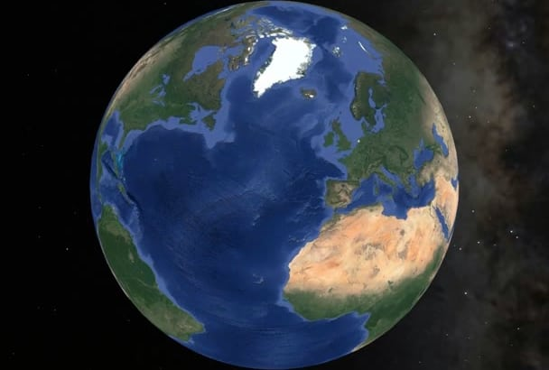create a unique zoom in video with Google Earth