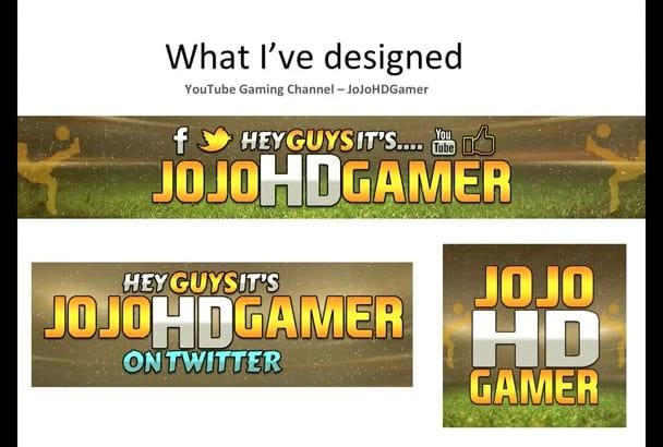 design you a KILLER YouTube and Social Media cover banner