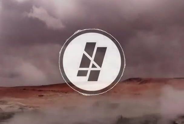 create a music waveform video