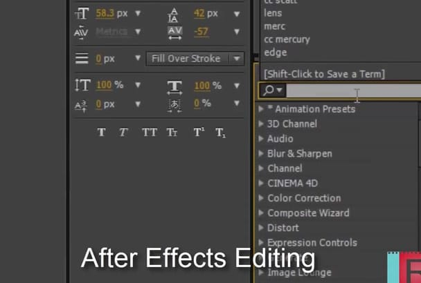 edit After Effects template from Videohive