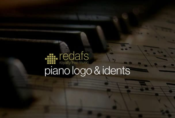 send you 5 royalty free piano opening and closing logo