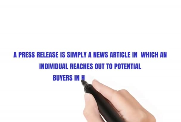 write a professional 400 words press release