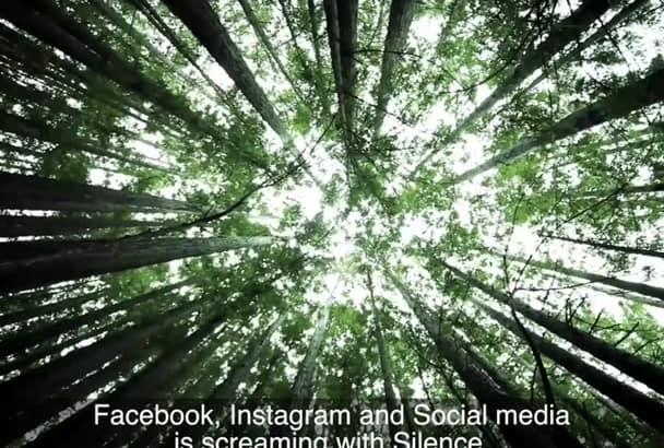 produce a Social Media Facebook video