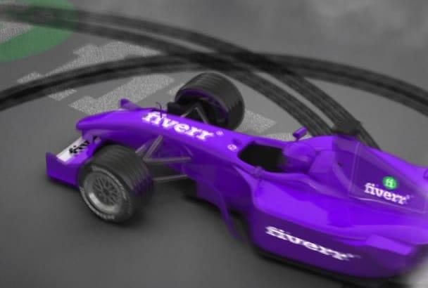 create a amazing video intro formula f1