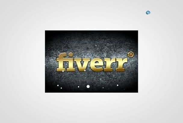 create your Logo into a Water Stinger or intro