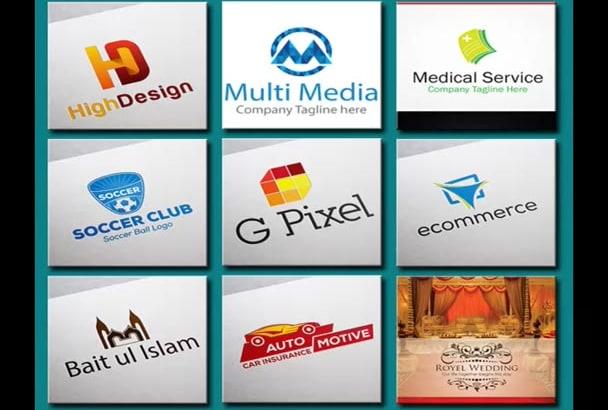 design Eye Catching Minimal Logo For you