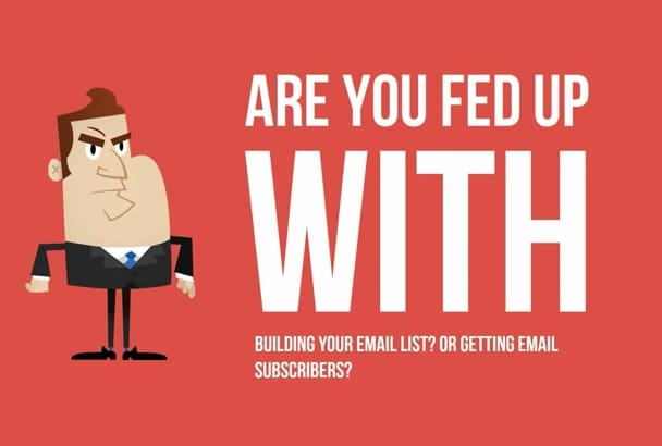 send you 1 Million mailing list to make money