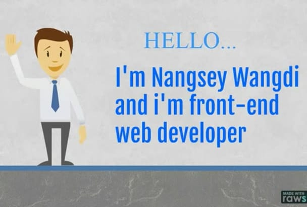 design psd to html5 with full responsive