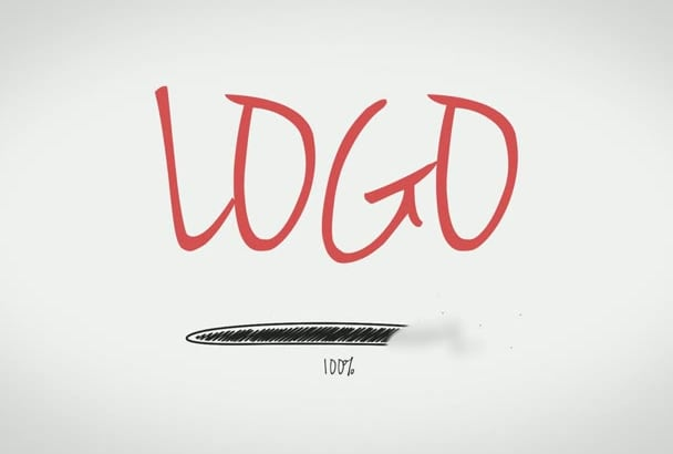 make an amazing looking Sketch reveal logo for you