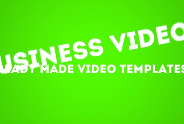 give you readymade professional marketing videos