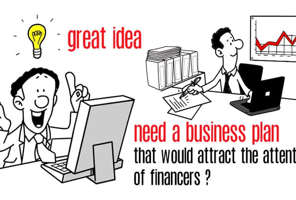 write A Comprehensive Business Plan for your Company