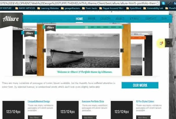 develop professional WEBSITE for your business and portfolio