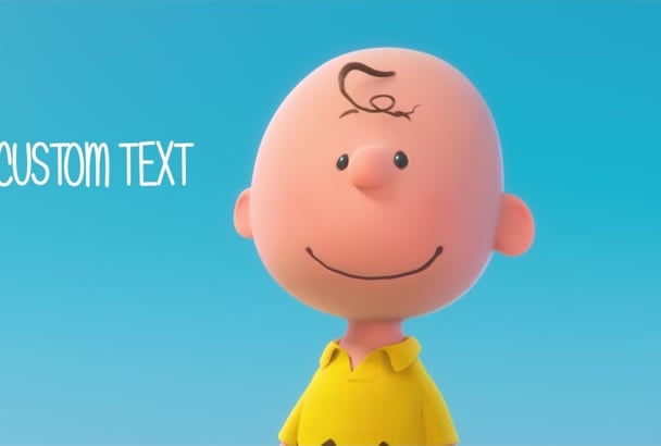 make a video with Charlie and Snoopy, very funny