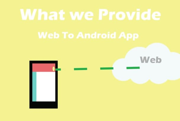 convert websites to  android apps