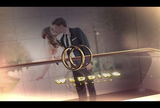create Elegant intro for your Wedding video