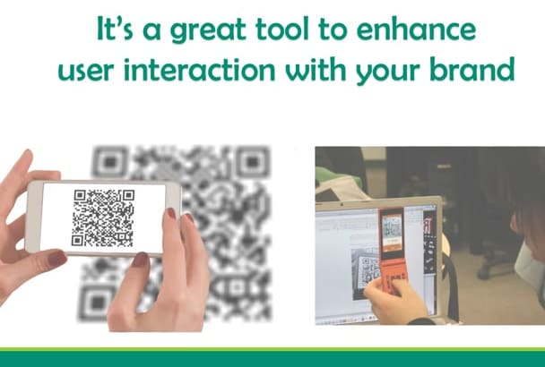 design custom, minimalist and artistic QR codes for you