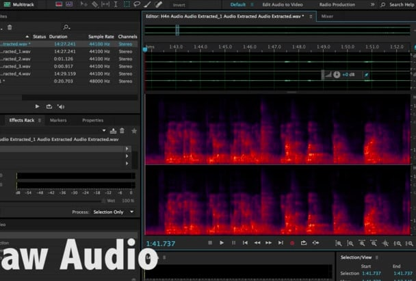 remove or reduce reverb and noise from an audio file