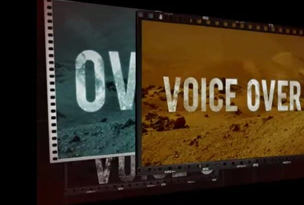 be your professional voice overs artist VO