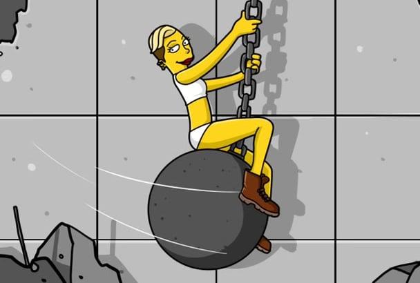 create a Yellow Premium Cartoon