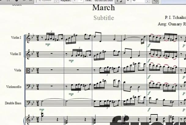 arrange or orchestrate your song beautifully