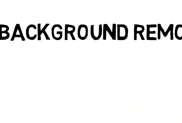 do 5 images background removal and Retouching